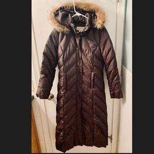 Like new MICHAEL KORS Long packable down jacket
